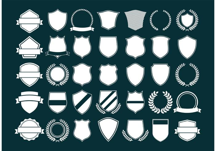 700x490 Vector Crest And Shields