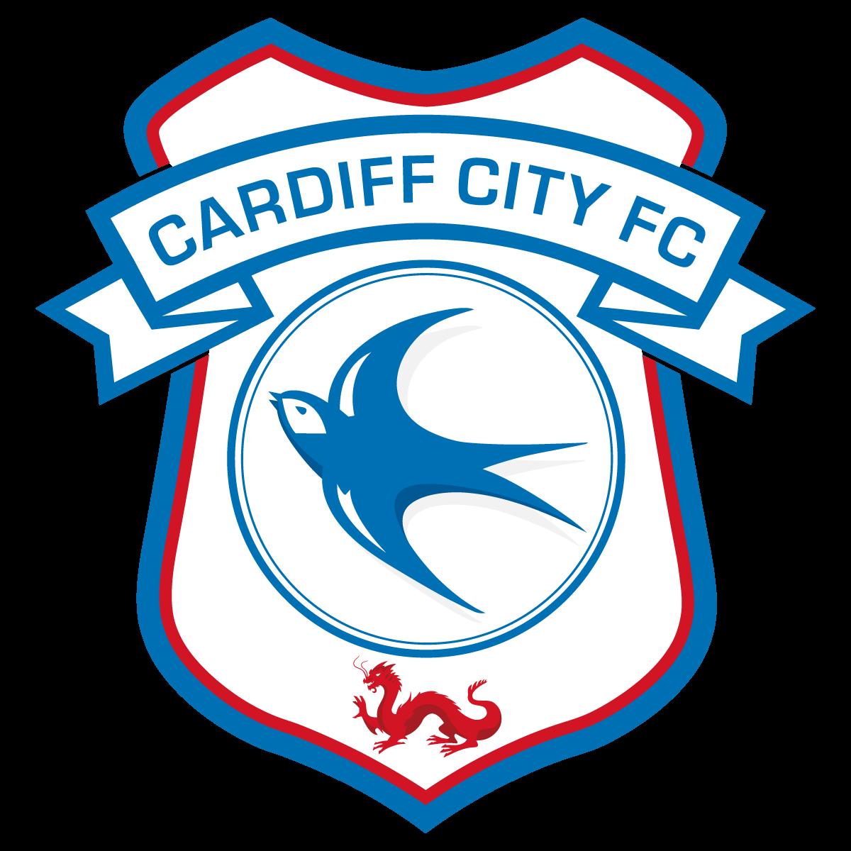 1200x1200 Cardiff City Fc Football Club Crest Logo Vector Free Vector