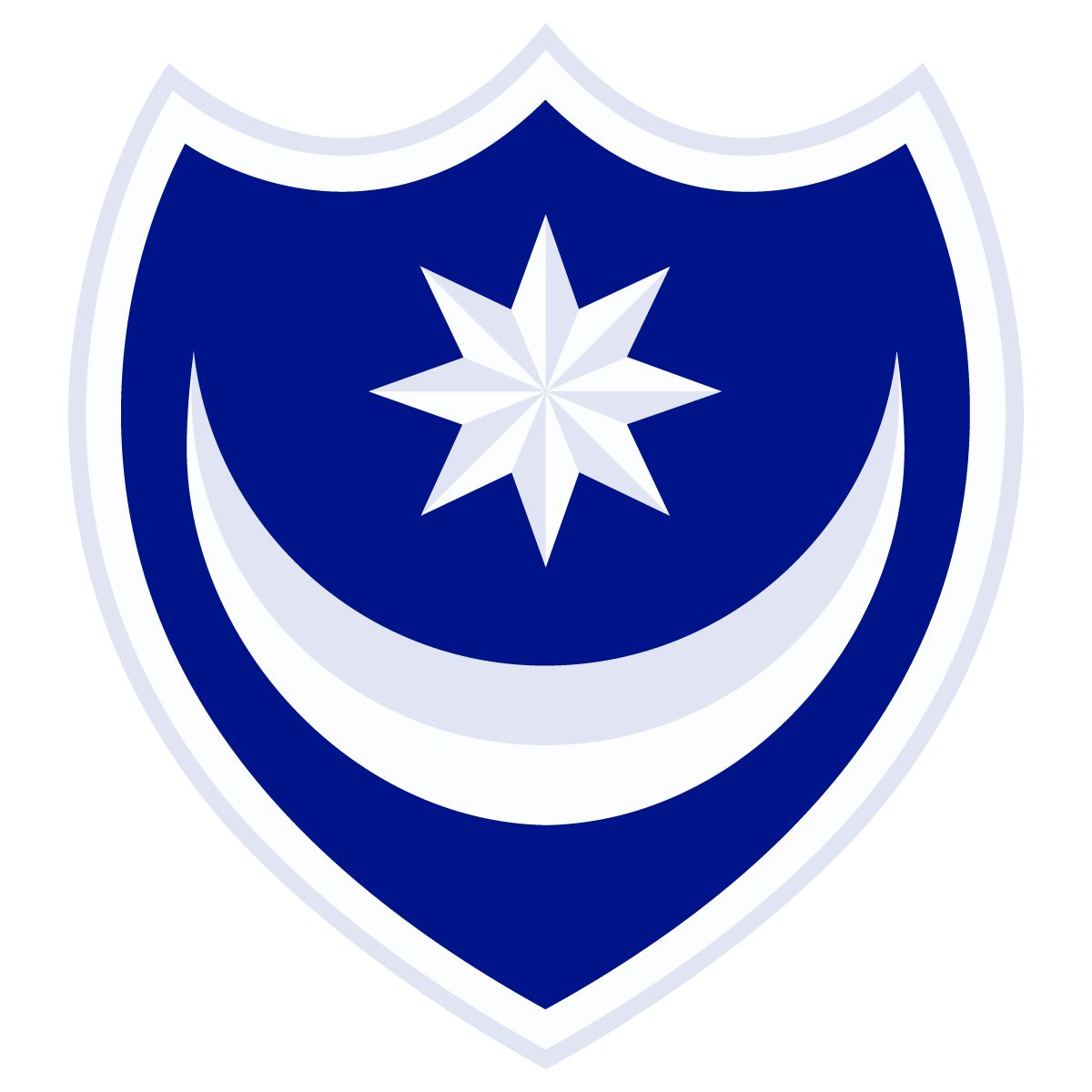 1200x1200 Portsmouth Fc Football Club Crest Logo Vector Free Vector