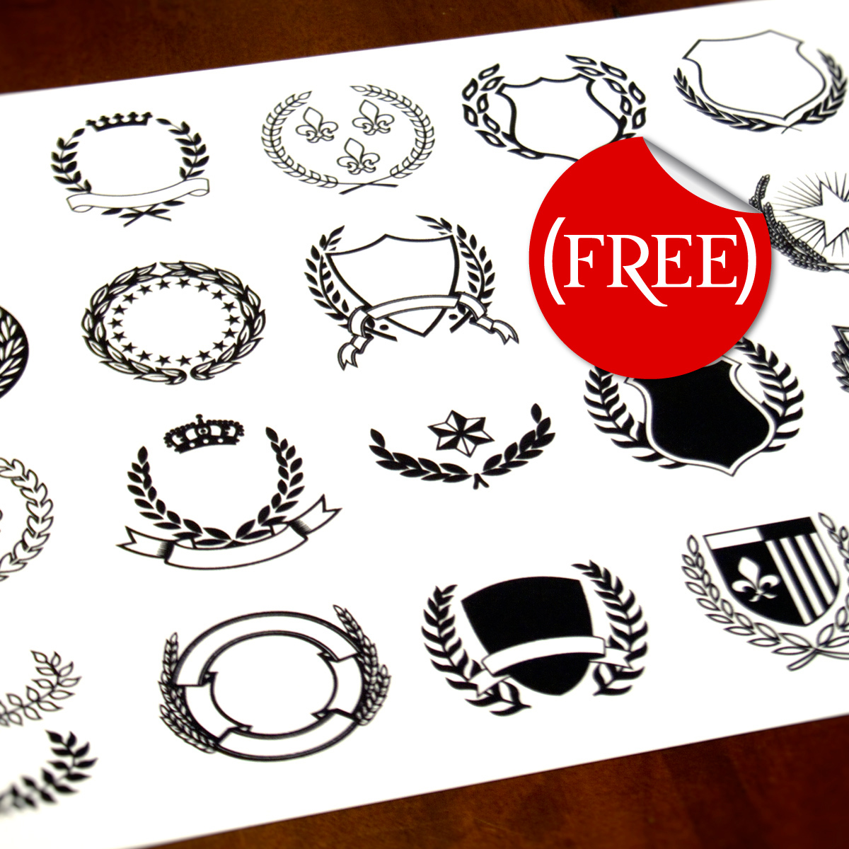 1200x1200 Vector Crests (Free) On Behance