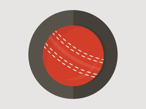 500x375 Cricket Ball Vector Awesomely Designed Cricket