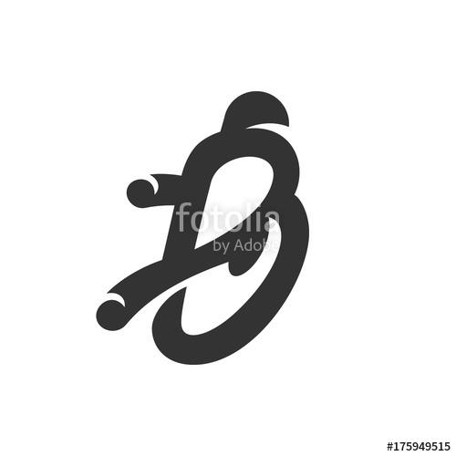 500x500 Crochet Hook Icon. Vector Logo On White Background Stock Image