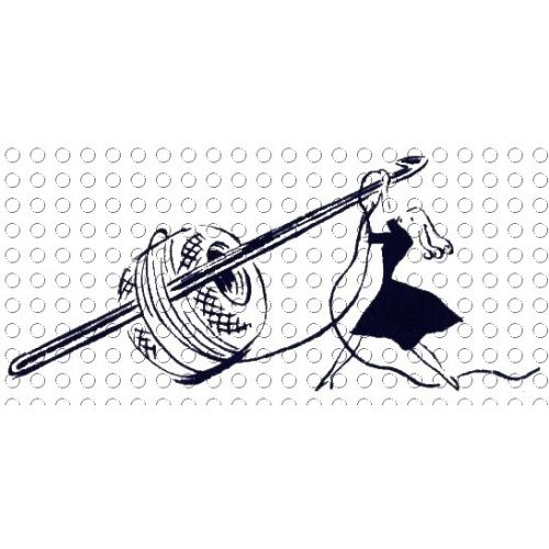 500x500 Crochet Picture Freeuse Library Logo Cartoon Black And White