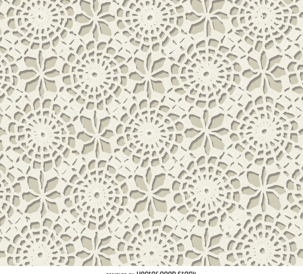 602x543 White Crochet Texture Free Vector Download 360051 Cannypic