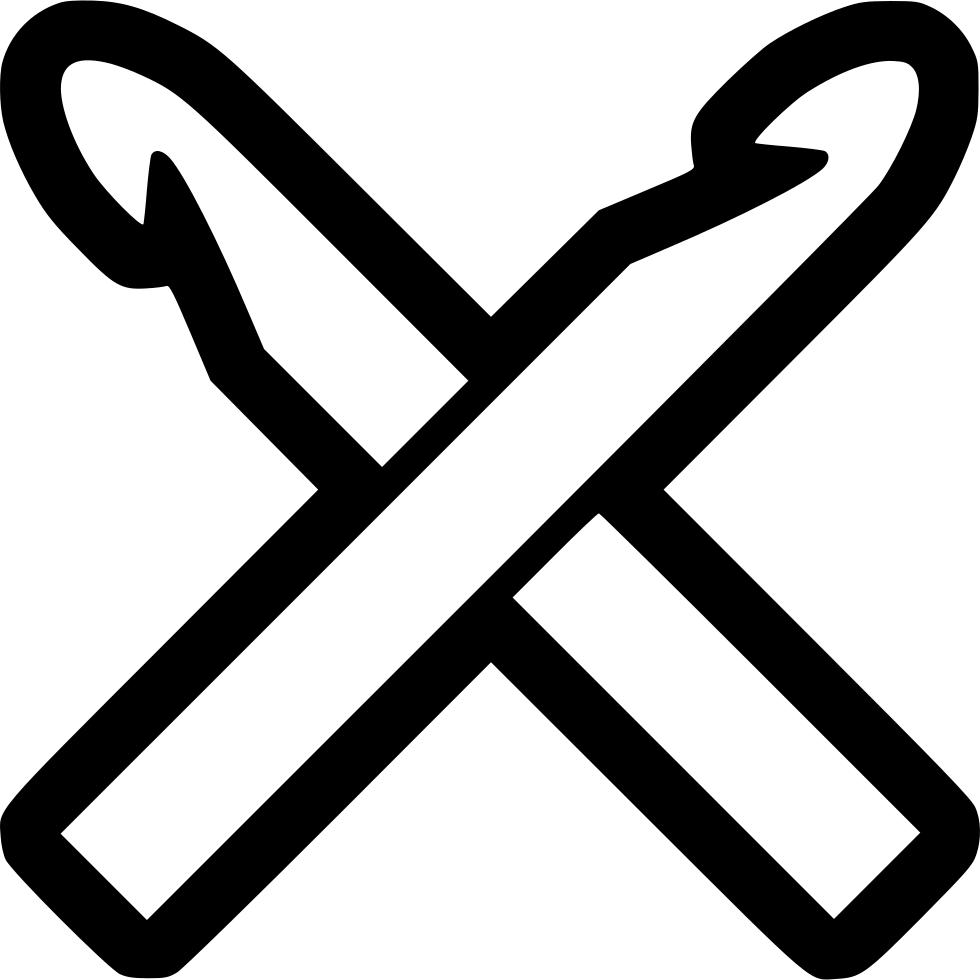 980x980 19 Crochet Hook Vector Free Library Huge Freebie! Download For