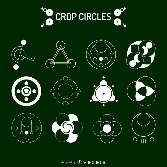 Crop Circle Vector