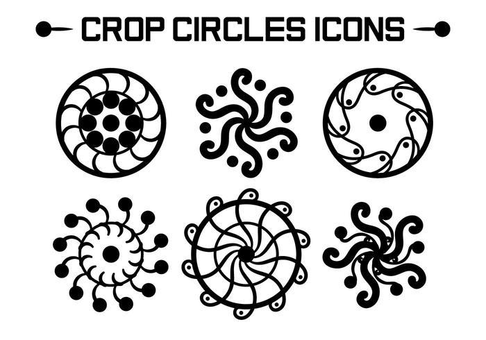 700x490 Crop Circles Vectors