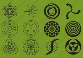 285x200 Crop Circle Icon Free Vector Graphic Art Free Download (Found