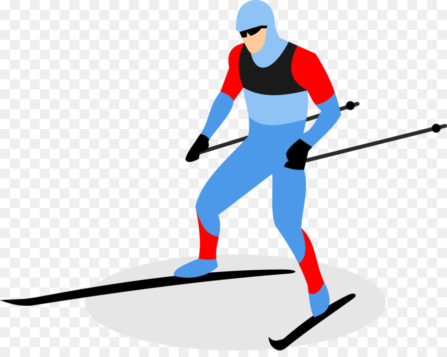 900x720 Cross Country Skiing Ski Pole Clip Art