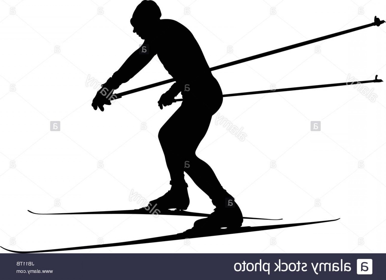1560x1132 Stock Photo Male Athlete Skier In Cross Country Skiing Vector