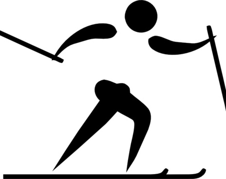 464x368 Cross Country Skiing Free Vector Download (1,429 Free Vector) For