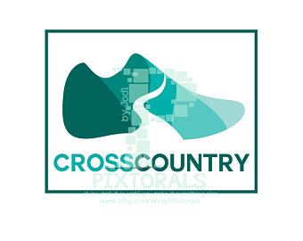 340x270 Cross Country Svg Etsy