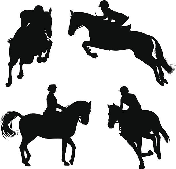 612x588 Collection Of Free Horsing Clipart Cross Country. Download On Ubisafe