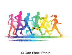 236x180 Race Clipart Cross Country Running