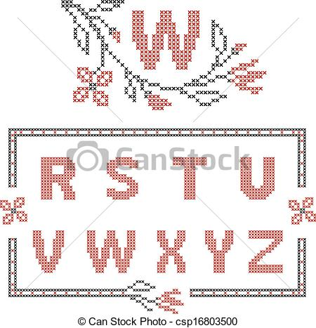 450x467 Cross Stitch Embroidery In Ukrainian Style. Design Elements For