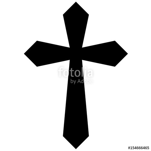 500x500 Tattoo Tribal Cross Designs. Isolated Vector Sketch Of A Tattoo