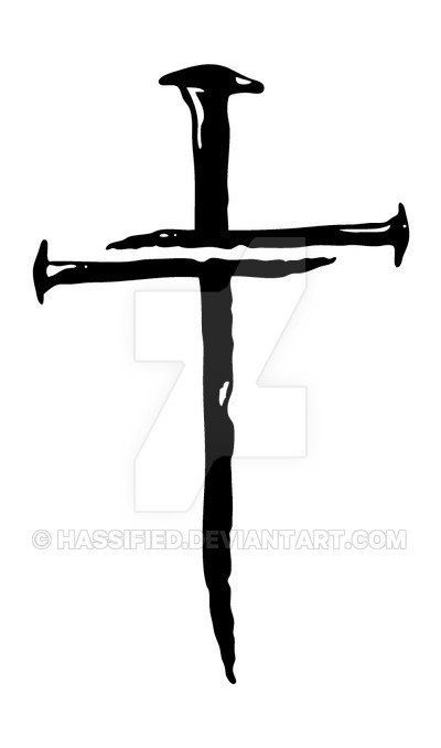 400x678 Three Nails Cross