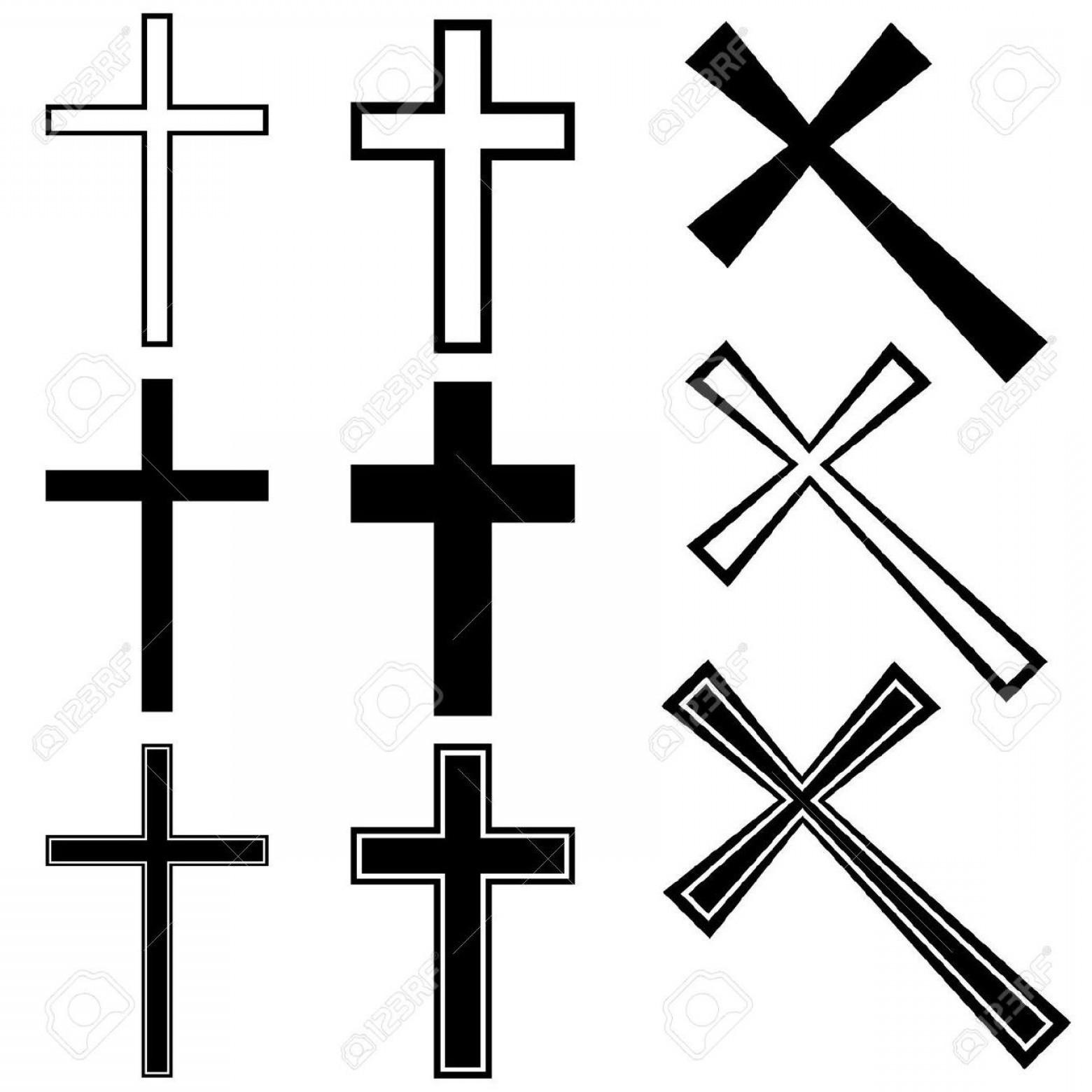 1560x1560 Top Vector Christian Crosses Stock Cross Tattoo File Free