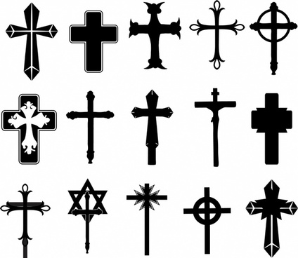 424x368 Cross Shape Free Vector Download (10,665 Free Vector) For