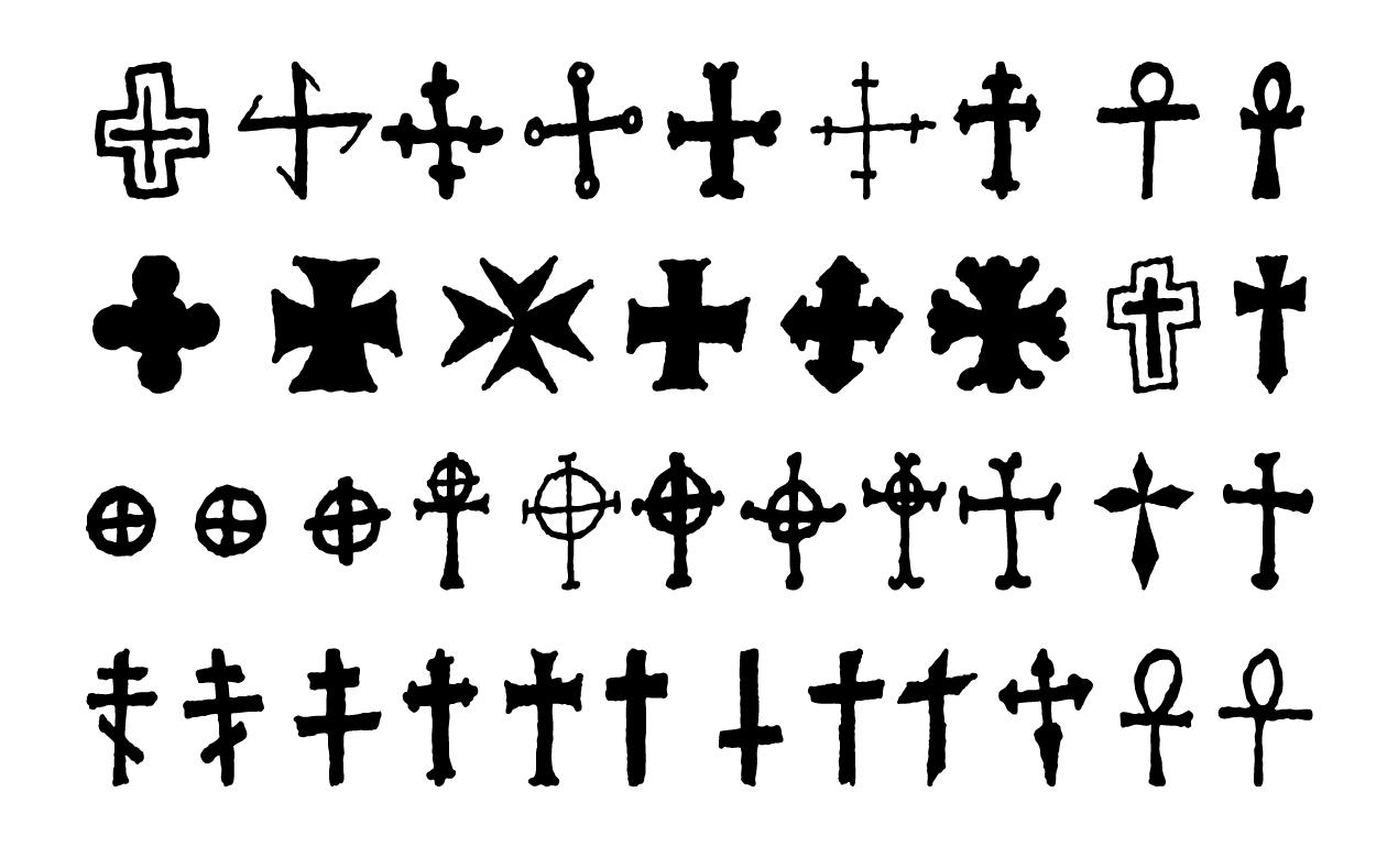 1270x770 Crosses Vector Pack For Adobe Illustrator