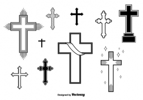 285x200 Vector Crosses Free Vector Graphic Art Free Download (Found 1,087