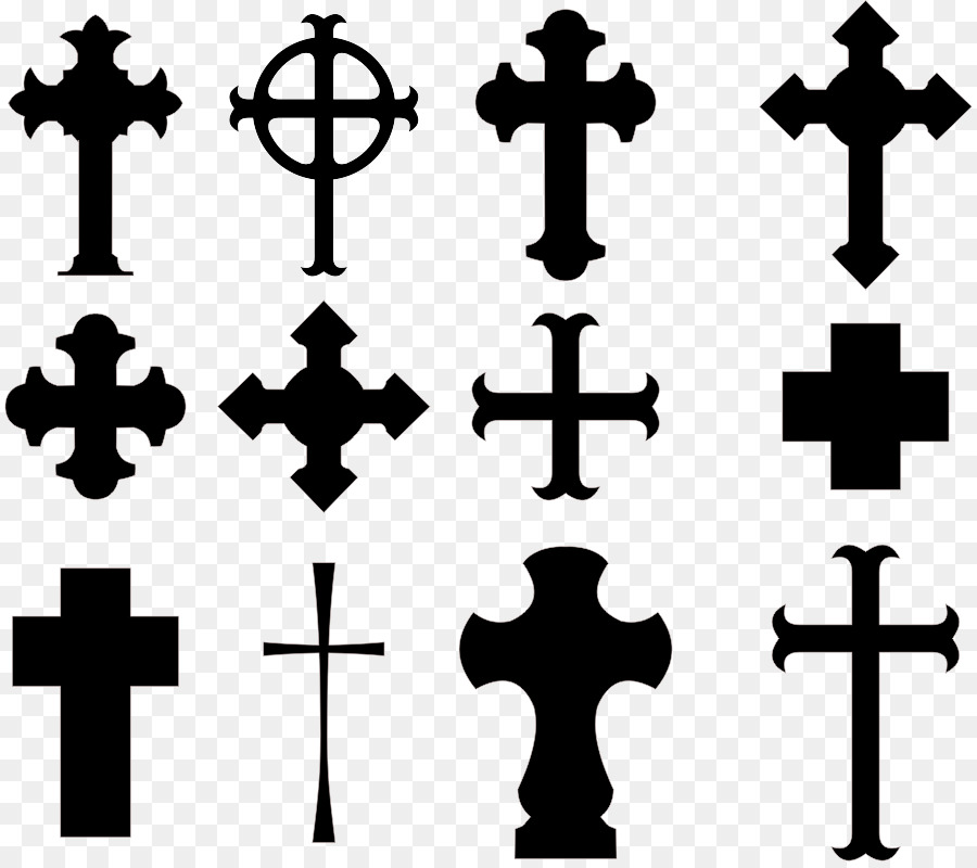 900x800 Christian Cross Vector Graphics Royalty Free Illustration