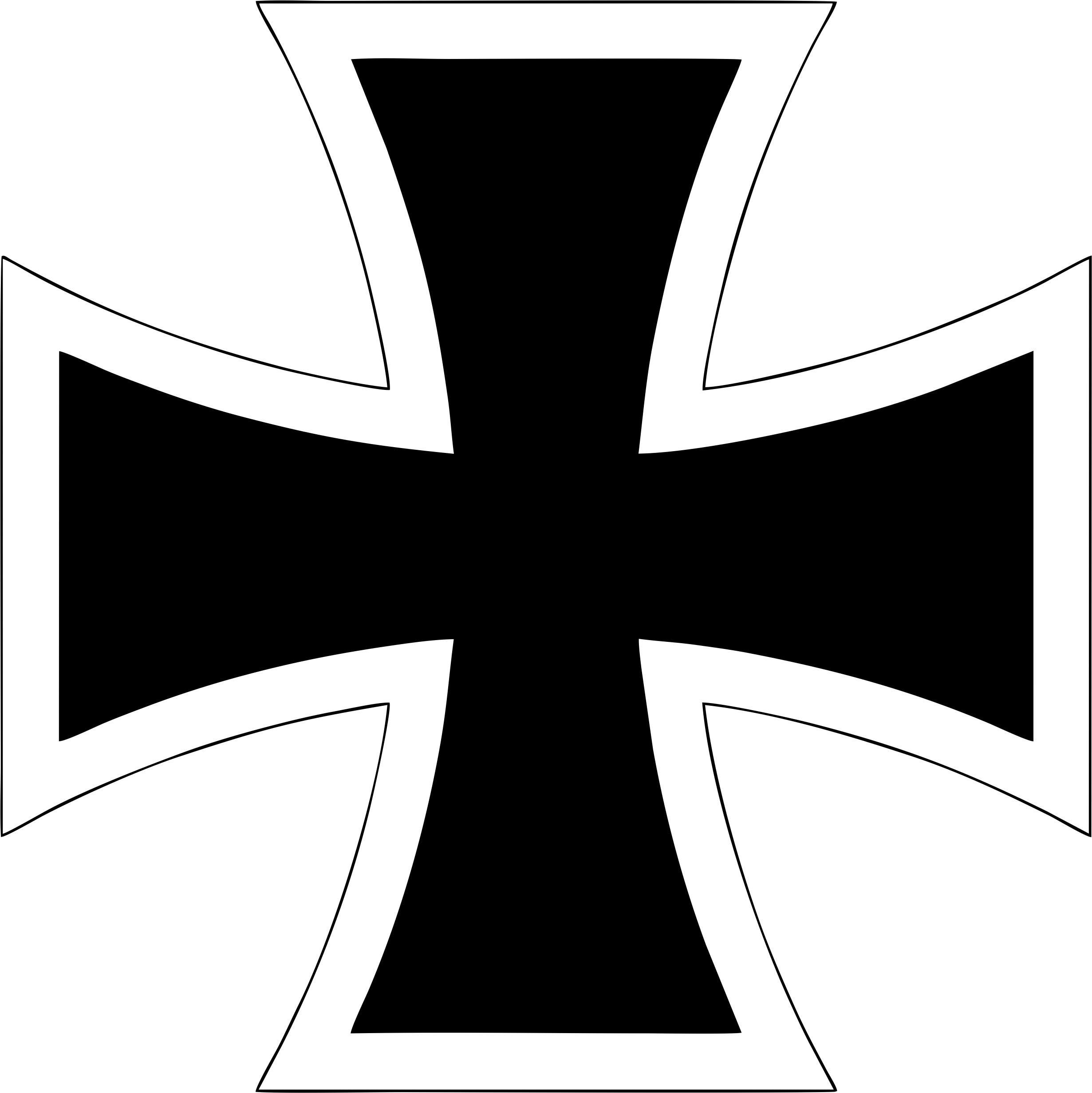 2461x2464 Drawn Cross Vector Free Download