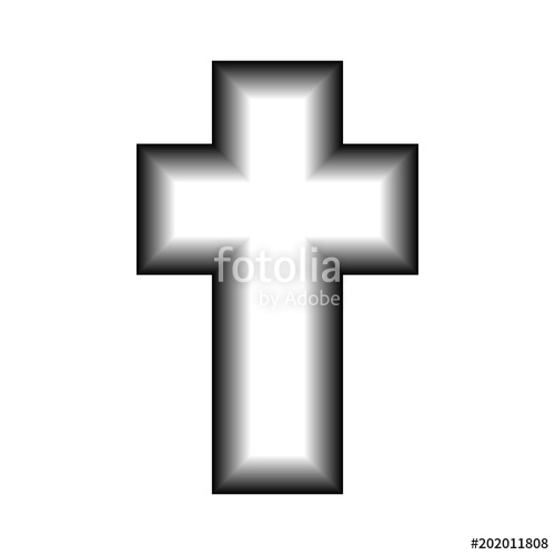 500x500 3d Cross Vector Icon Stock Image And Royalty Free Vector Files On