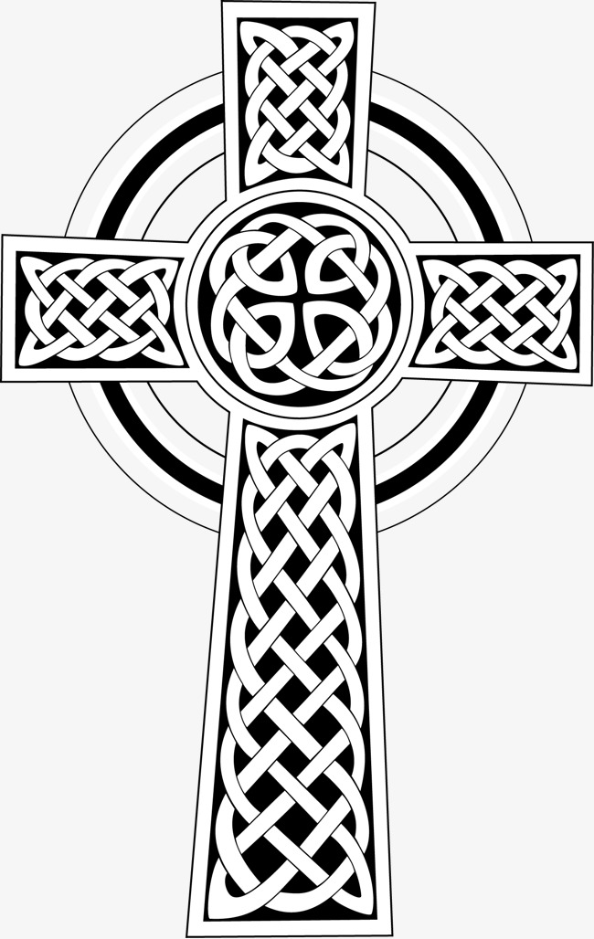 650x1028 Vector Hand Painted Cross, Cross Vector, Hand Painted Cross