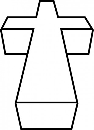 309x425 3d Cross Vector Free Vector Download In .ai, .eps, .svg Format