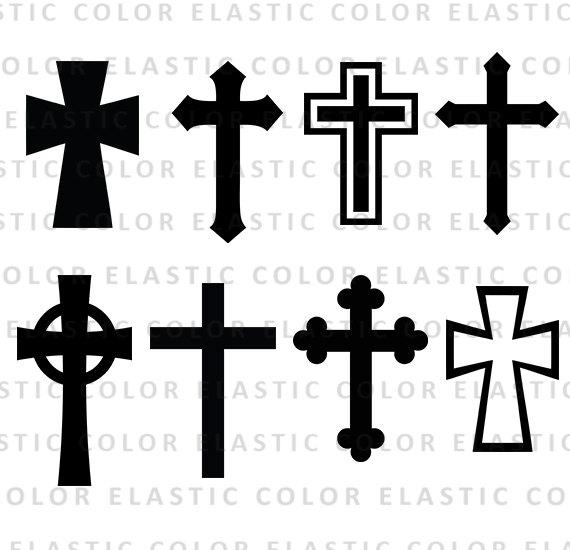 570x550 Cross Silhouette