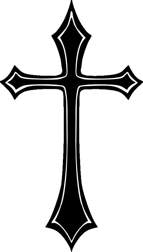 473x832 Cross Vector