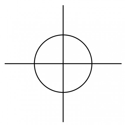 425x425 Crosshair Vector Free Vector Download In .ai, .eps, .svg Format