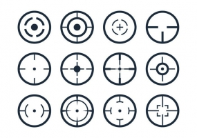285x200 Crosshairs Free Vector Graphic Art Free Download (Found 10 Files