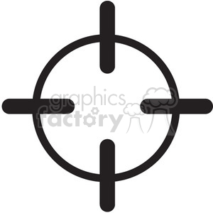 300x300 Royalty Free Retical Crosshair Vector Icon 398636 Icon