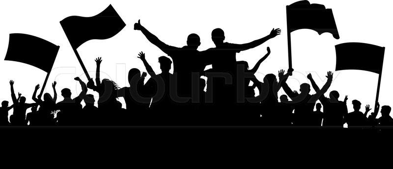 800x345 Crowd Of People, Friends