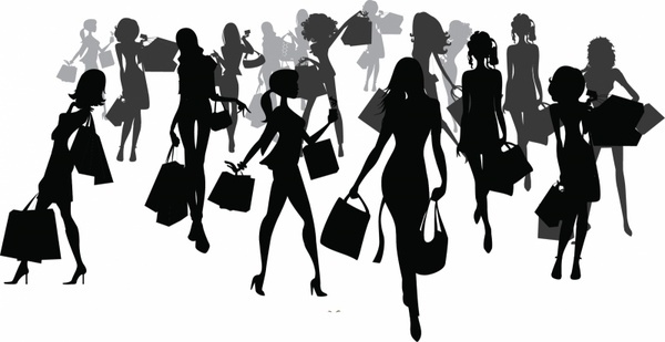 600x309 Crowd Vector Free Vector Download (101 Free Vector) For Commercial