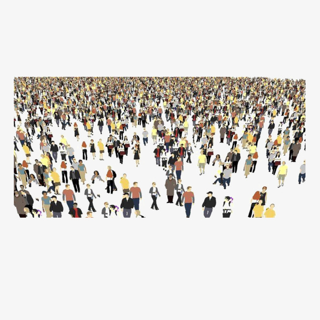 650x651 Huge Crowds Of People, People Vector, People Clipart, Crowd Png