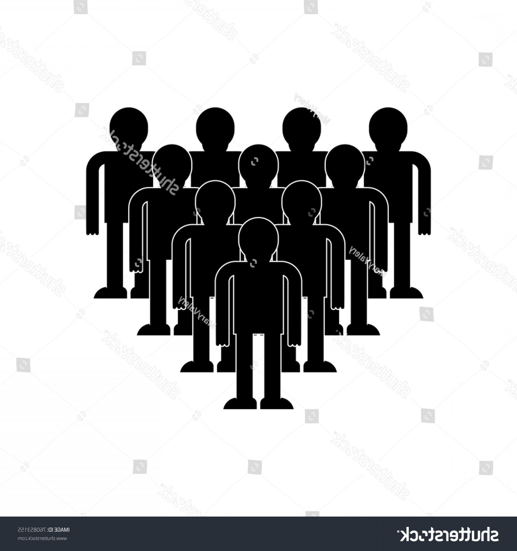 1800x1920 Vector Crowd Of People Arenawp