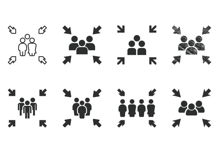 700x490 Crowd Free Vector Art