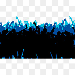 260x260 Crowd Silhouette Png Images Vectors And Psd Files Free