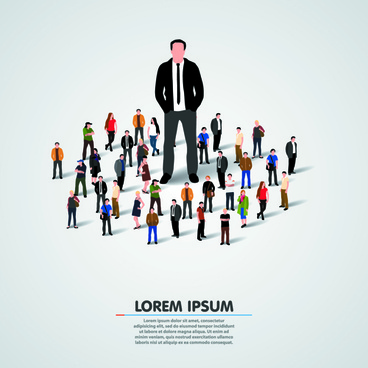 368x368 Crowd Vector Free Vector Download (101 Free Vector) For Commercial