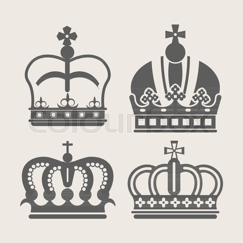 800x800 Crown Royal Logo Of Diadem Or Tiara With Ornate Ornament Pattern