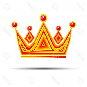 300x300 Photostock Vector Crown Royal Queen Vector King Symbol Emperor