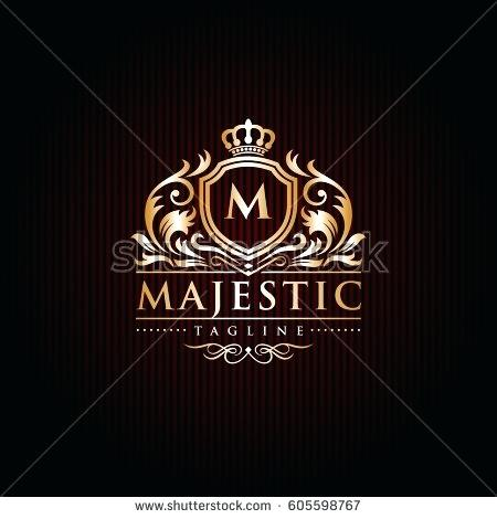 450x470 Crown Royal Bottle Label Template Logo Design Vector Illustration