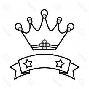 300x300 Monogram With Crown Royal Design Logo Vector Geekchicpro