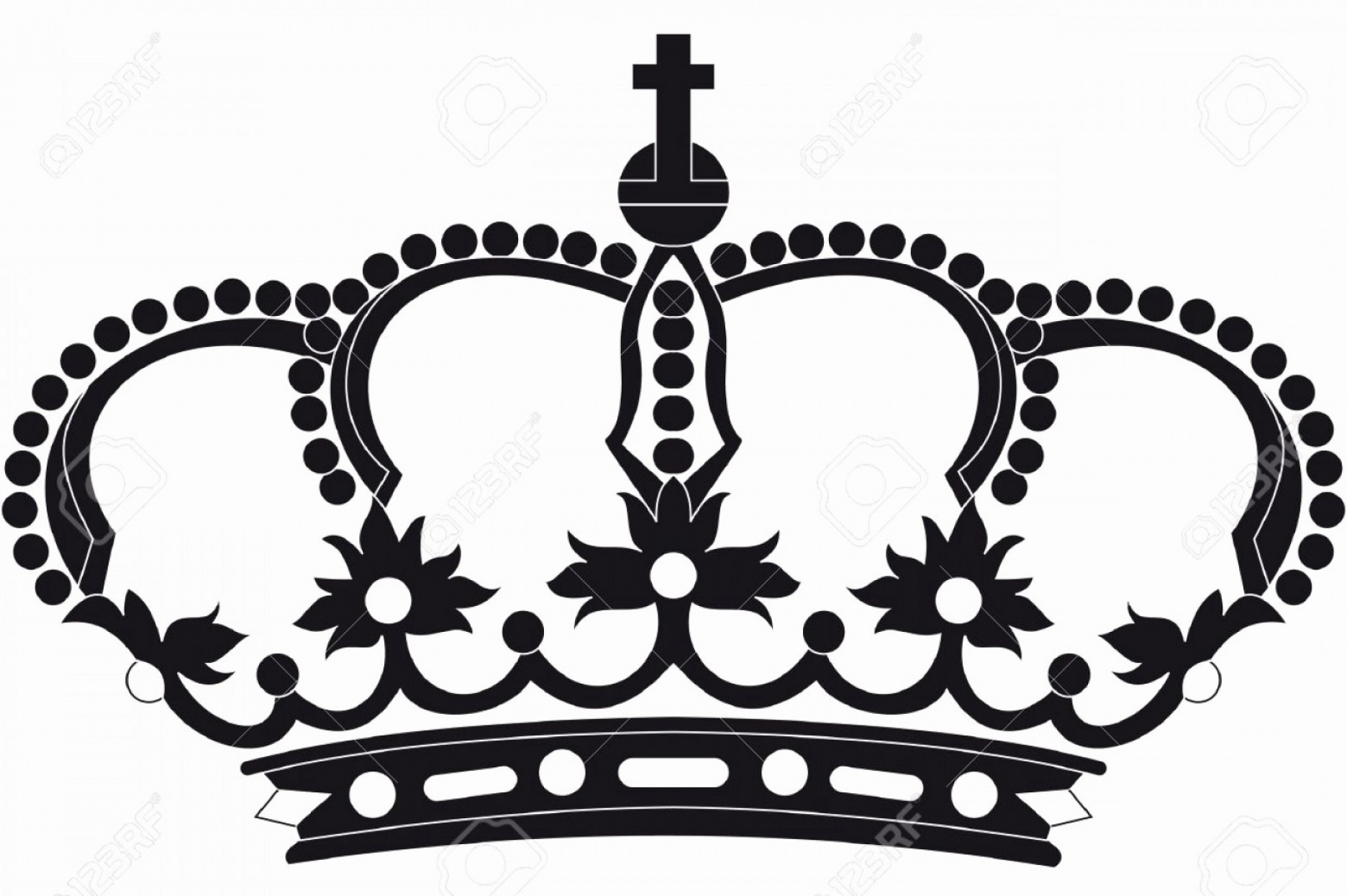 1872x1245 Queen Crown Vector Lovely Silhouette Simple Symbol Of Classic