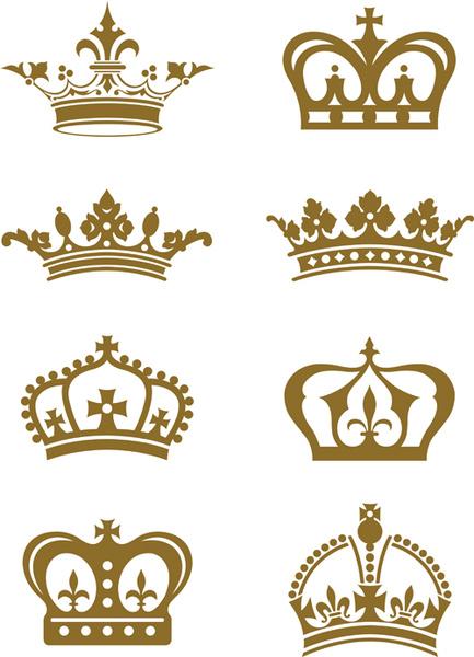 433x600 Royal Crown Vintage Design Vectors Free Vector In Encapsulated