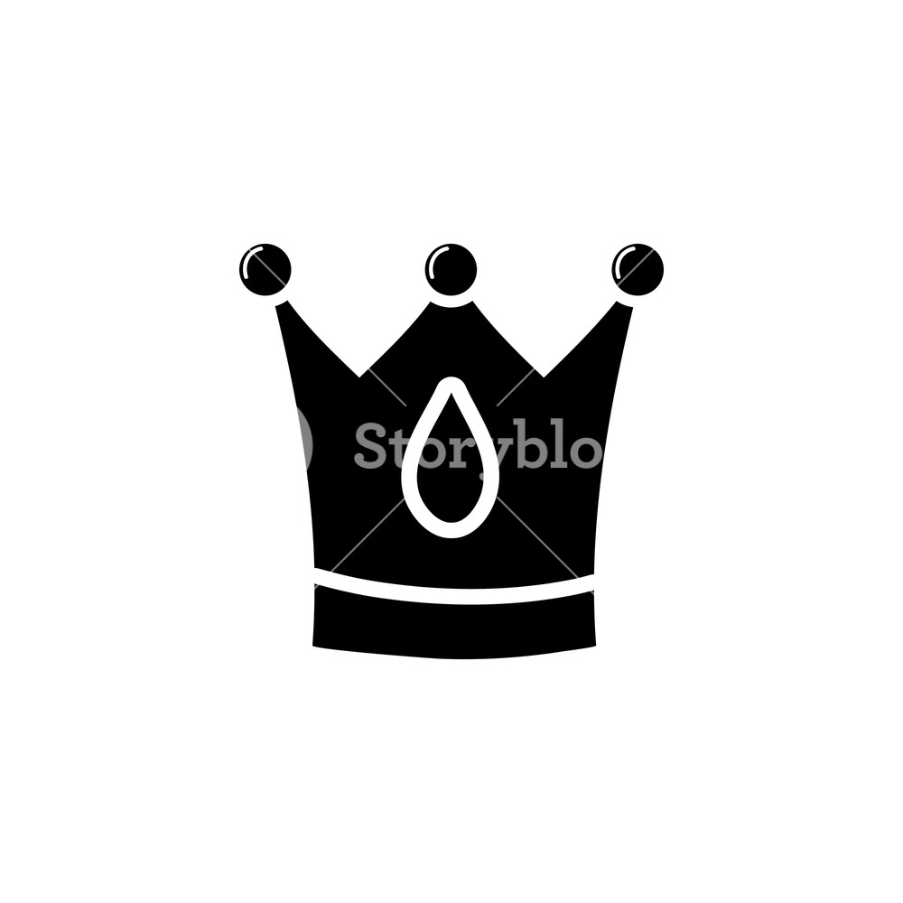 1000x1000 Contour Crown Royal Luxury Jewelry Object Vector Illustration
