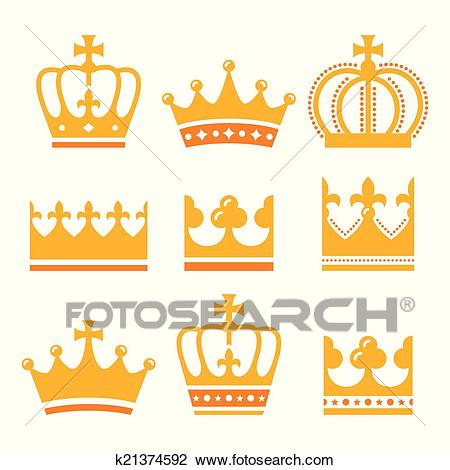 450x470 Crown Royal Clipart Vector Gold